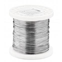 Ø 0.85 mm Stainless steel wire 316L - V4A soft annealed polished Food contact approved 0.25Kg 55 meters