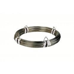 Ø 1,8 mm fil inox 302 - V2A - 1.4310 Corde à piano mat Qualité contact alimentaire 100 mètres