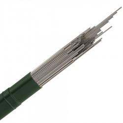 Ø 2,5 mm fil inox 302 - V2A - 1.4310 Corde à piano mat Qualité contact alimentaire 50 mètres