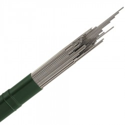 Ø 3,5 mm fil inox 302 - V2A - 1.4310 Corde à piano mat Qualité contact alimentaire 26 mètres