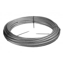Ø 4 mm fil inox 302 - V2A - 1.4310 Corde à piano mat Qualité contact alimentaire 25 mètres
